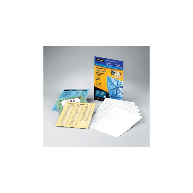 3 mil cold letter laminating sheets